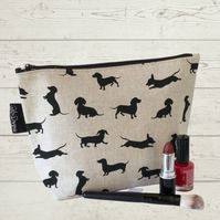 Makeup bag- dachshunds