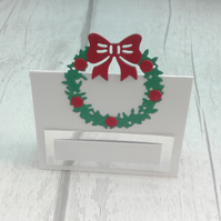 Christmas place settings. Set of 15 luxury Christmas place cards.