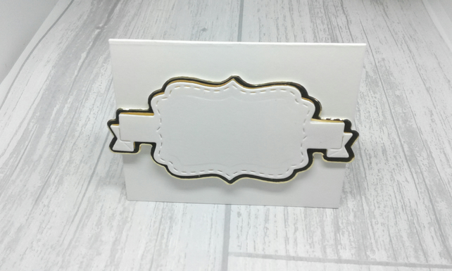 Christmas place settings. Set of 10 luxury Christmas place cards. Ivory & gold.