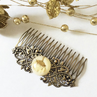 Vintage Style Hair comb Pretty Hair accessories Wedding Bridal Hair ornaments