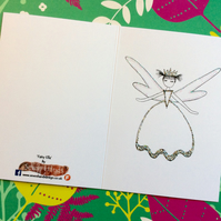 Fairy Ella Blank Card.