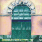 'Loading Door, Salts Mill' blank card.