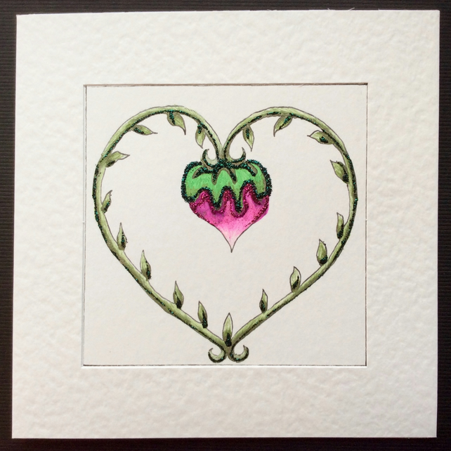 'The Fruits of Love' Art Card.
