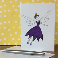 Penny Fairy Blank Card