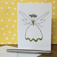 Fairy Ella Blank Card