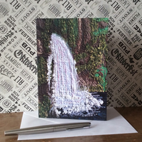 Waterfall Card.