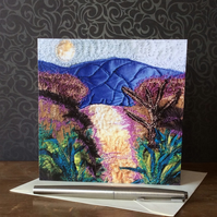 'Road Less Travelled' Blank Card.