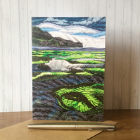 Seascape Card.