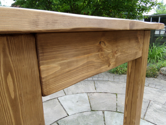 Hand made chunky rustic bespoke fire surround made to order