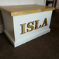 Personalised Toy Box Handmade Wooden with Soft Close Lid