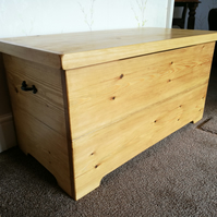 Blanket Box Storage Box Handmade Solid Wood