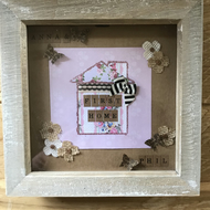 Personalised First Home Box Frame
