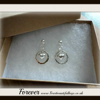 Forever Heart earrings