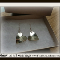 Shiny Heart earrings