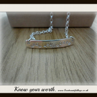Know your worth Was 40.00 Now Sale price  12.00 GBP