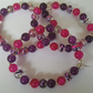 Children's elasticated bead bracelet