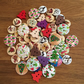 Christmas Button Mix