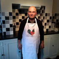 'Rooster Cogburn' apron