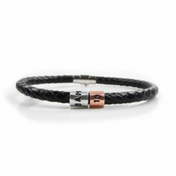 13th Birthday Personalised Leather Bracelet – Gift Boxed