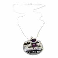 Personalised 23rd Birthday Birthstone Necklace - Gift Boxed