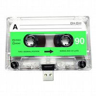 16GB USB Mixtape-Retro- Best Friend- Quirky Gift - Music Lover- Birthday