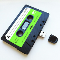 16GB USB  Mixtape-Retro Present- Quirky Gift - Music Lover - Love - Personal