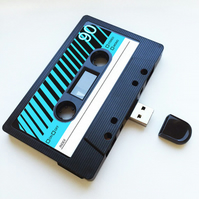 16GB USB Mix tape-Retro - Quirky  - Music Lover- Fathers Day- Upload Memories