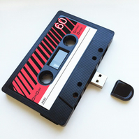 16GB USB  Mixtape-Retro - Quirky Gift - Music Lover - Gifts for him - Storage