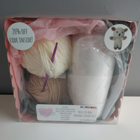 Lamby the Sheep Crochet Kit