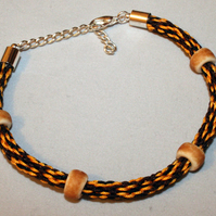 Kumihimo Bracelet 'with Rondelles'