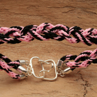 Kumihimo Bracelet 'Triple Braid'