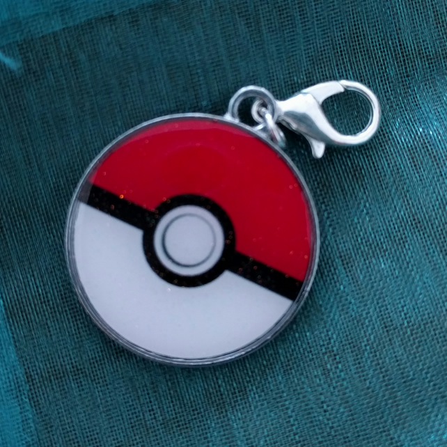Pokeball Progress Keeper Stitch Marker