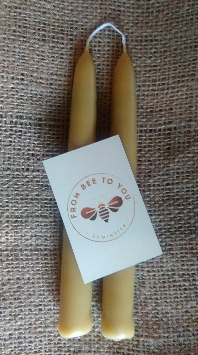 Pure Devon Hand Dipped Beeswax Candles