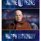 Doctor Who Personalised Birthday Card A5