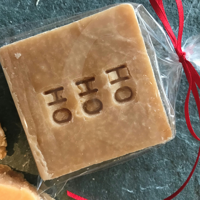 Christmas Message Scottish Tablet Square