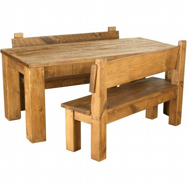 Rustic Plank Pine Furniture New Real Solid Wood Folksy
