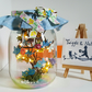 Little Blue bird Light Jar