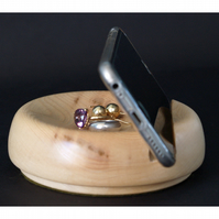 Handmade wooden stand for phone, smartphone, iPhone, tablet, iPad, great present
