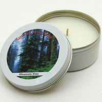 Scented Candle - Mountain Pine - Secret Santa - Stocking Filler - Christmas