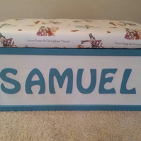 Bespoke Personalised Toybox, perfect for christmas