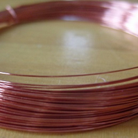 0.3mm plated copper craft wire, bare copper