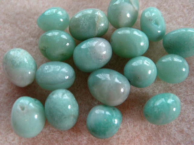 Amazonite gemstone bead