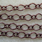 1 metre antique copper fancy chain, 6mm x 9mm