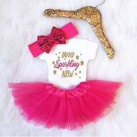 Baby Girl Newborn Coming Home Outfit
