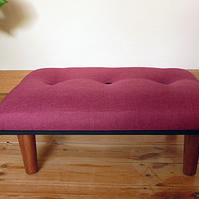Footstool - bespoke contemporary design