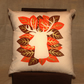 Deer Cushion Leaf Surround - Cream
