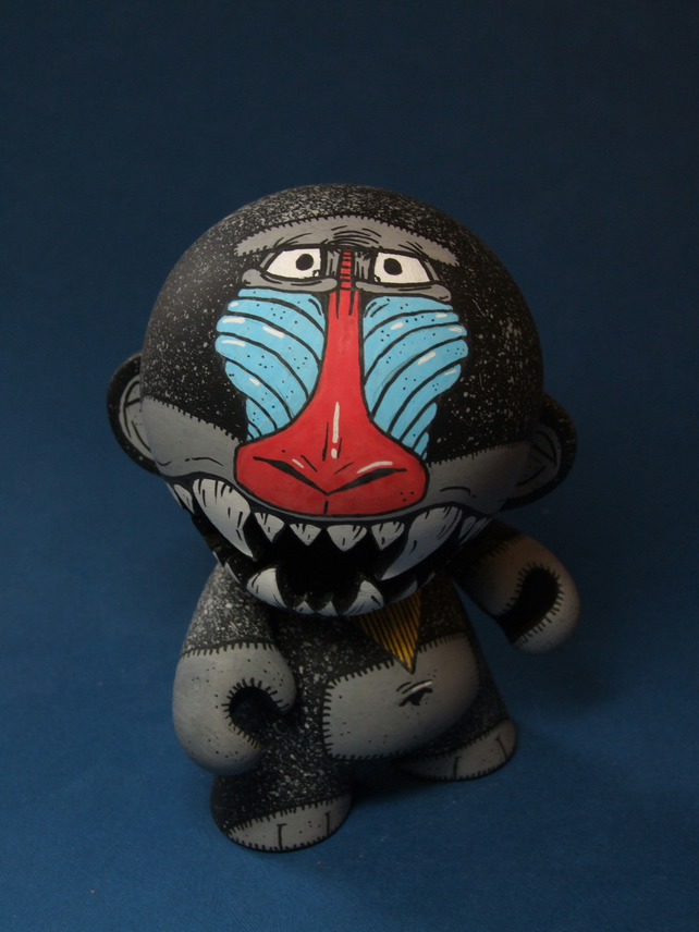 Mandrill Custom Mini Munny