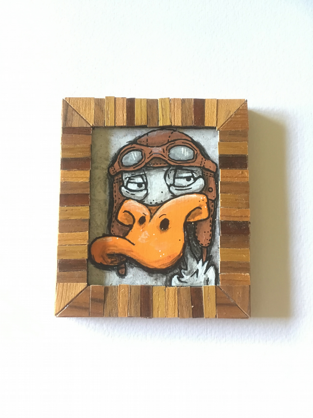 James Pond - Mini Painting Fridge Magnet