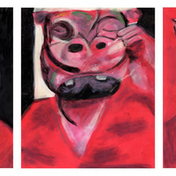 The Hippo Triptych