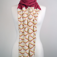 Knitted Scarf Pink